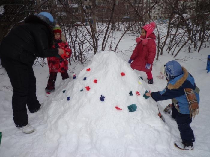 Снежные приключени6