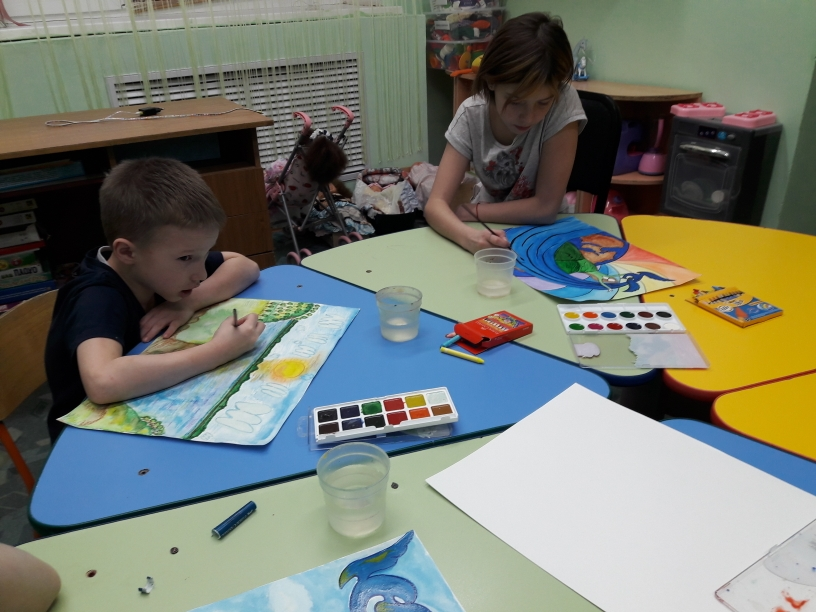 Конкурс рисунков «Мой любимый Жигулёвск»
