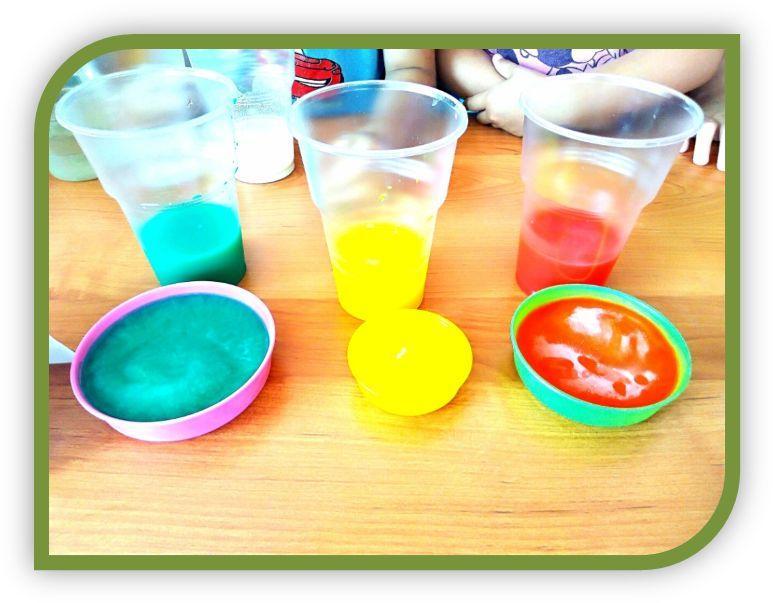 Игры – экспериментирования с водой