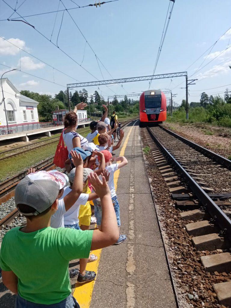 Экскурсия на железнодорожный вокзал в Шлюзовом районе г. Тольятти
